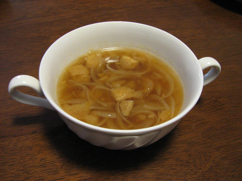 油麩オニオンスープ
